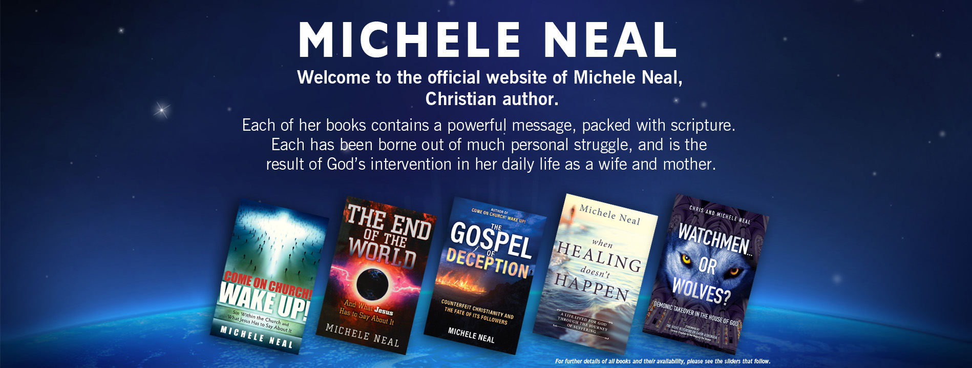 christian books by michele neal